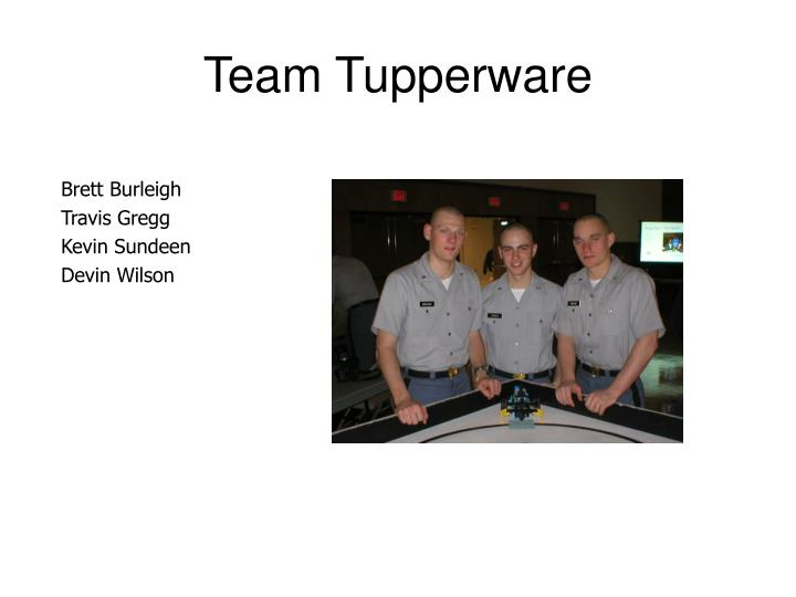 Team Tupperware