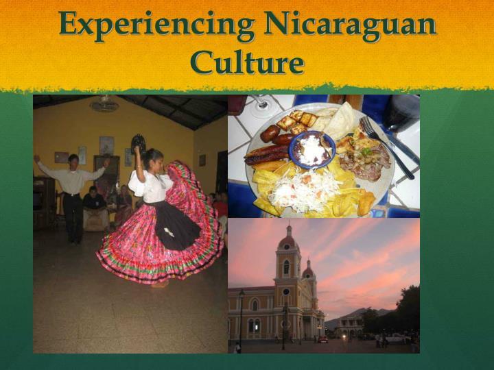 Experiencing Nicaraguan Culture