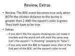 review extras
