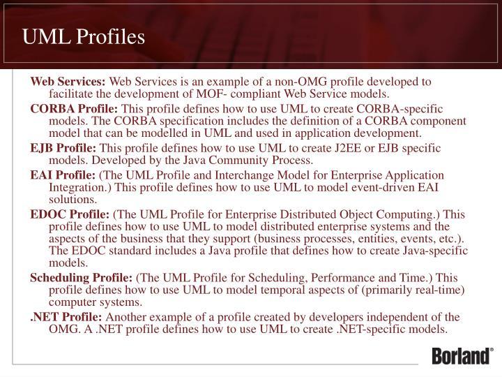UML Profiles