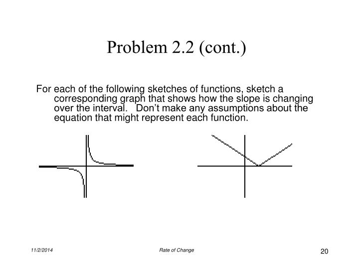 Problem 2.2 (cont.)