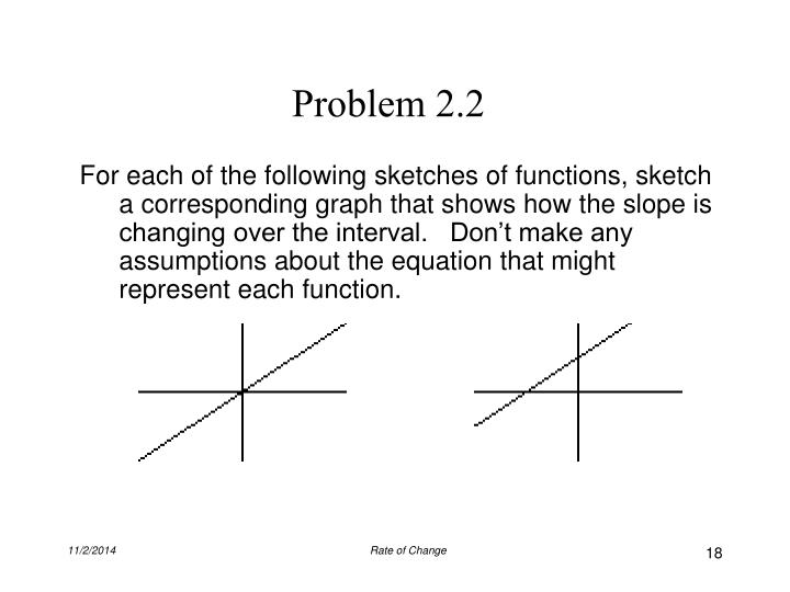 Problem 2.2