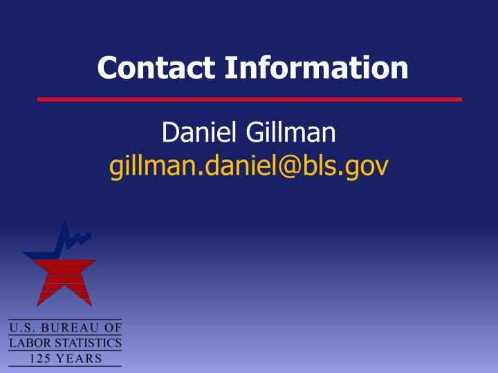 Daniel Gillman