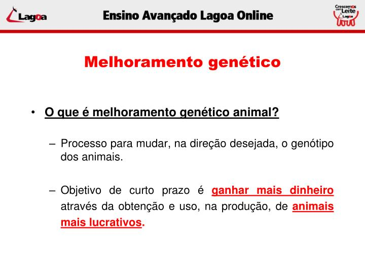 Melhoramento genético