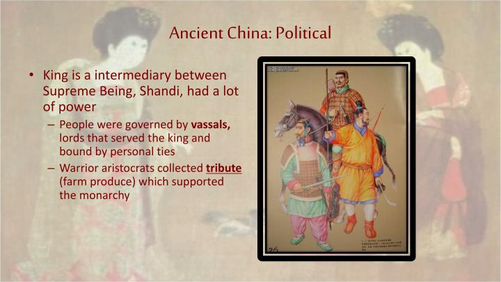 Ancient China: Political