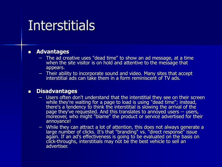 Interstitials
