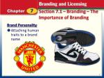 section 7 1 branding the importance of branding3