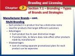 section 7 1 branding types of brands and strategies1
