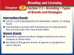 section 7 1 branding types of brands and strategies3