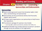 section 7 2 licensing sponsorships and endorsements1