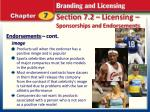 section 7 2 licensing sponsorships and endorsements10