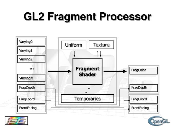GL2 Fragment Processor