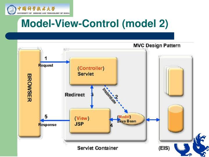 Model-View-Control (model 2)