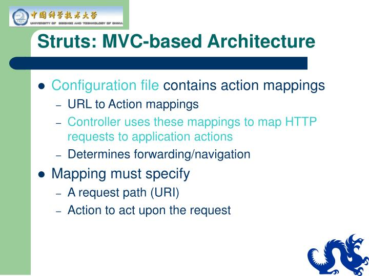 Struts: MVC-based Architecture