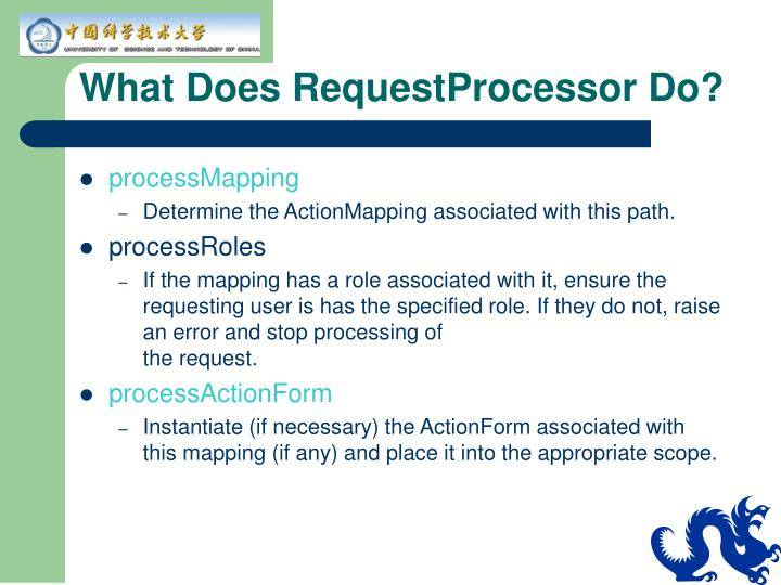 What Does RequestProcessor Do?