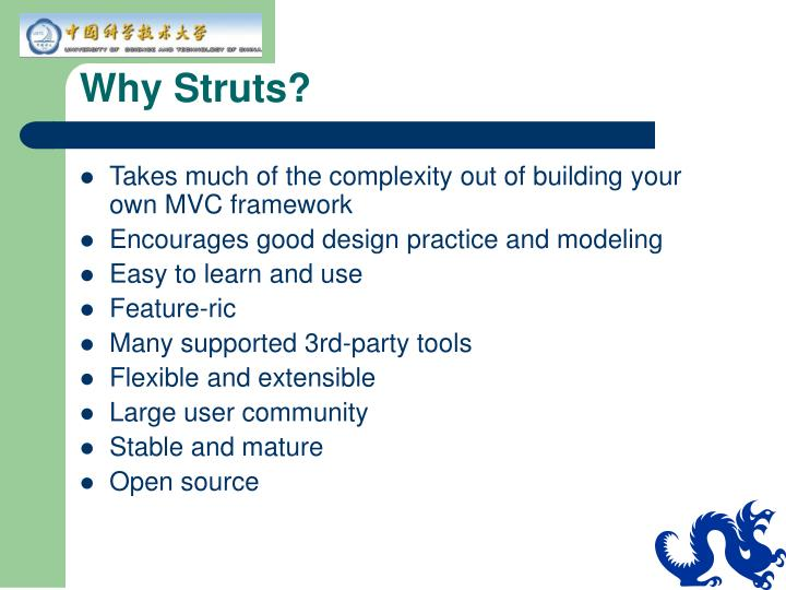 Why Struts?