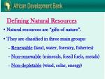 defining natural resources