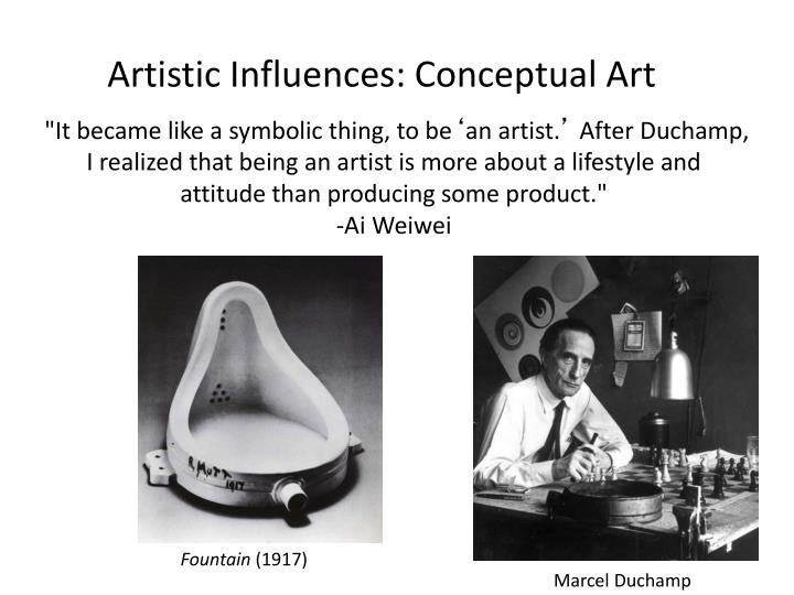 Artistic Influences: Conceptual Art