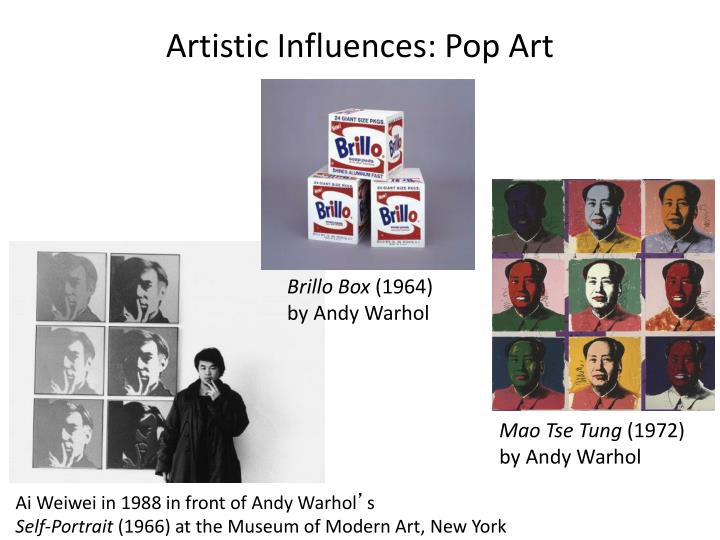 Artistic Influences: Pop Art