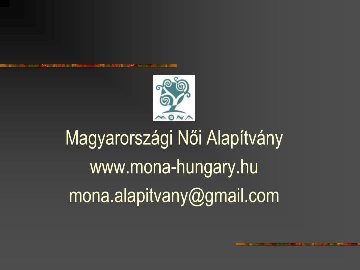 Magyarországi Női Alapítvány