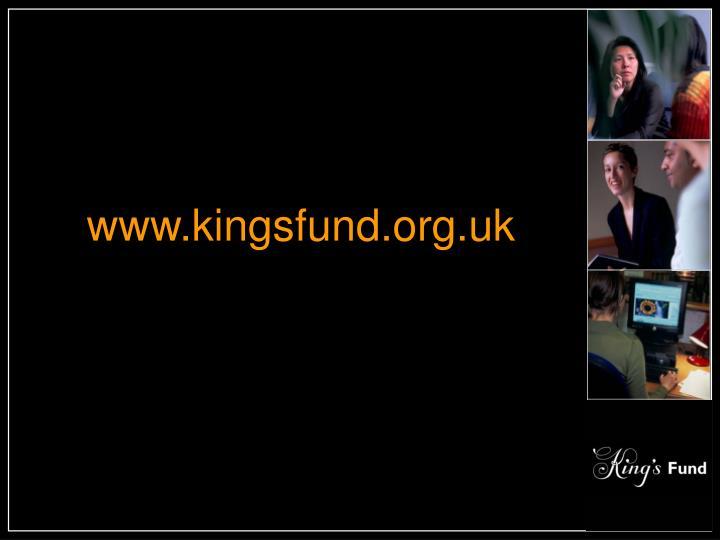 www.kingsfund.org.uk