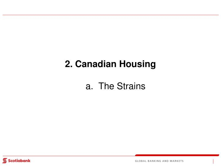 Canadian Housing