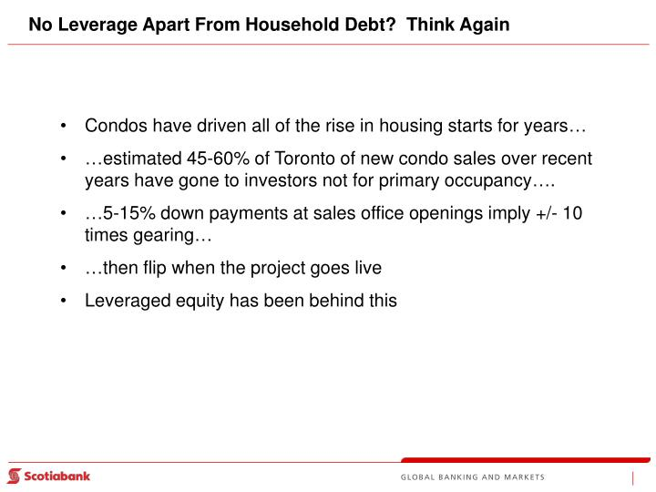 No Leverage Apart From Household Debt?  Think Again