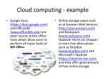cloud computing example1