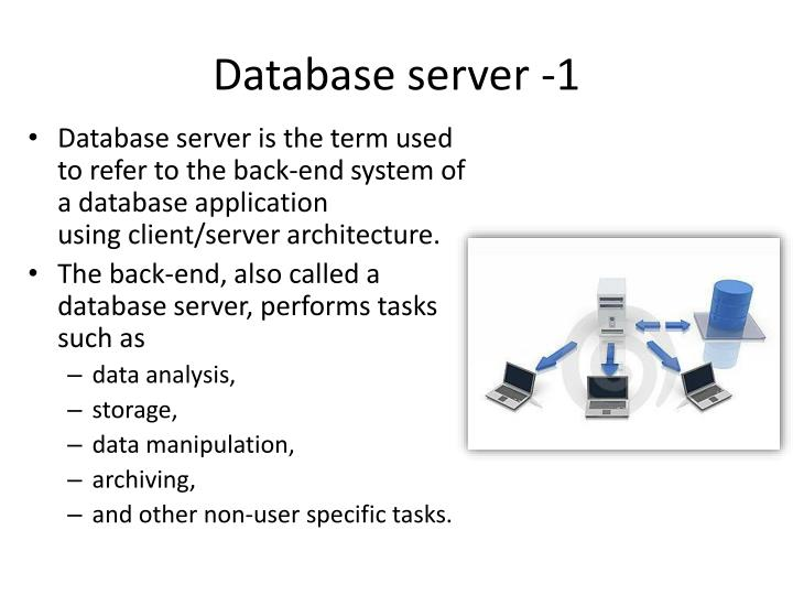 Database server -1