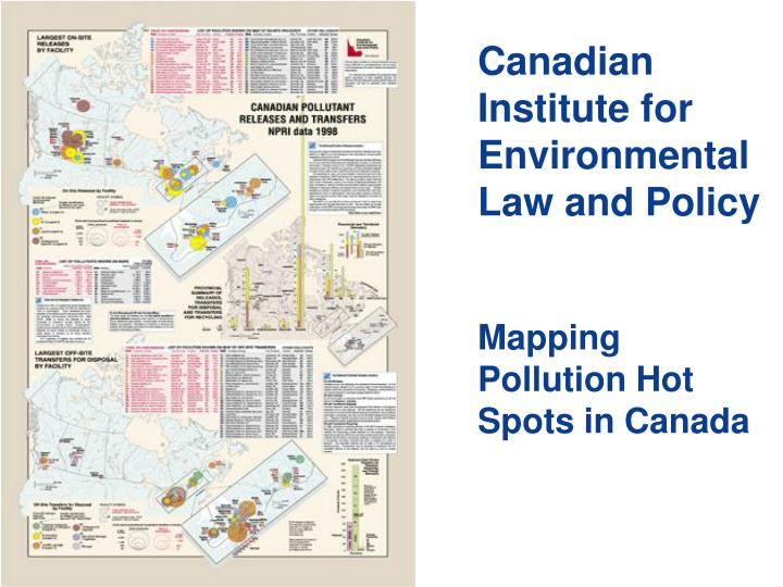 Canadian Institute for Environmental Law and Policy