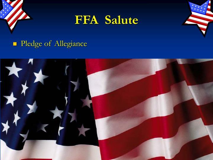 FFA  Salute