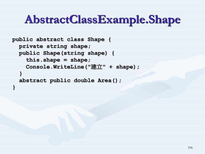 AbstractClassExample.Shape