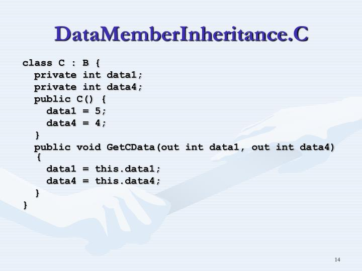 DataMemberInheritance.C