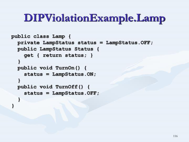 DIPViolationExample.Lamp