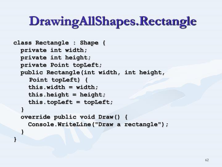 DrawingAllShapes.Rectangle
