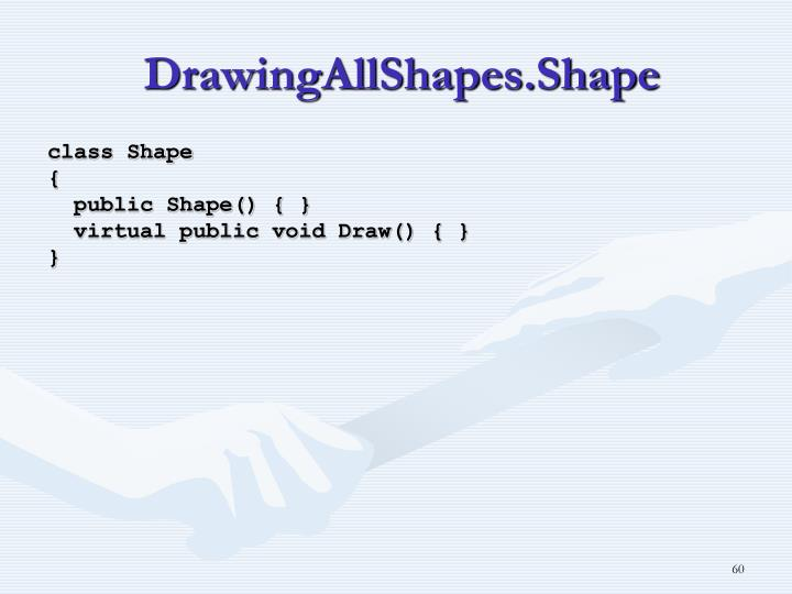 DrawingAllShapes.Shape