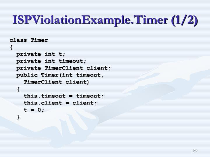 ISPViolationExample.Timer (1/2)