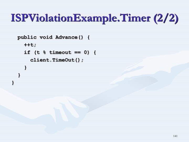 ISPViolationExample.Timer (2/2)
