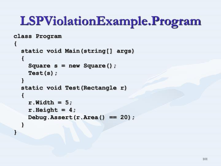 LSPViolationExample.Program