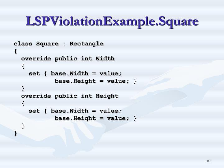 LSPViolationExample.Square
