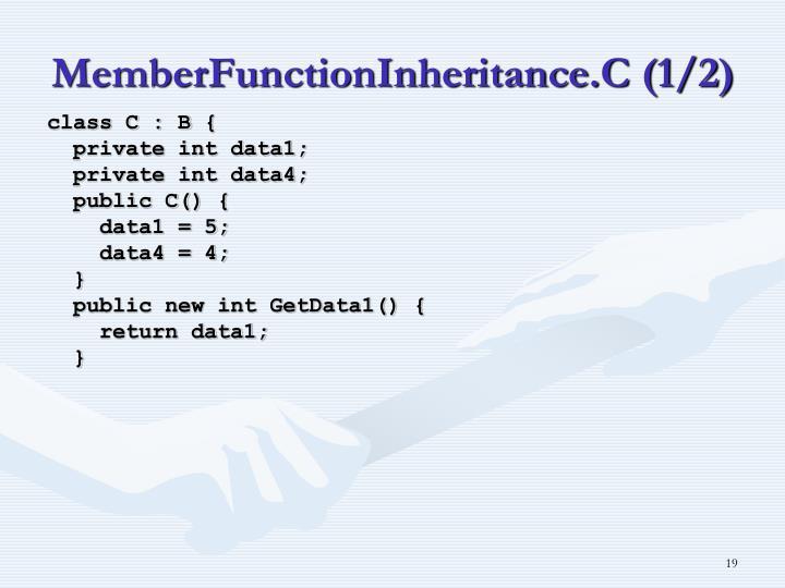 MemberFunctionInheritance.C (1/2)
