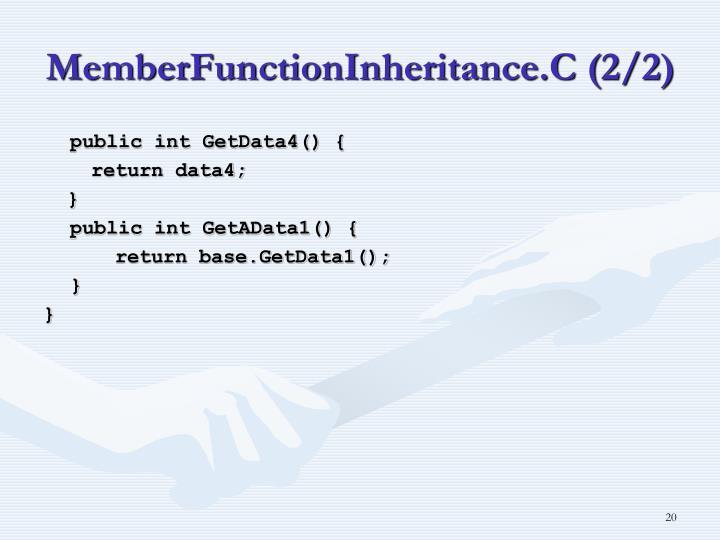 MemberFunctionInheritance.C (2/2)