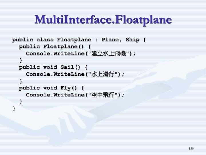 MultiInterface.Floatplane