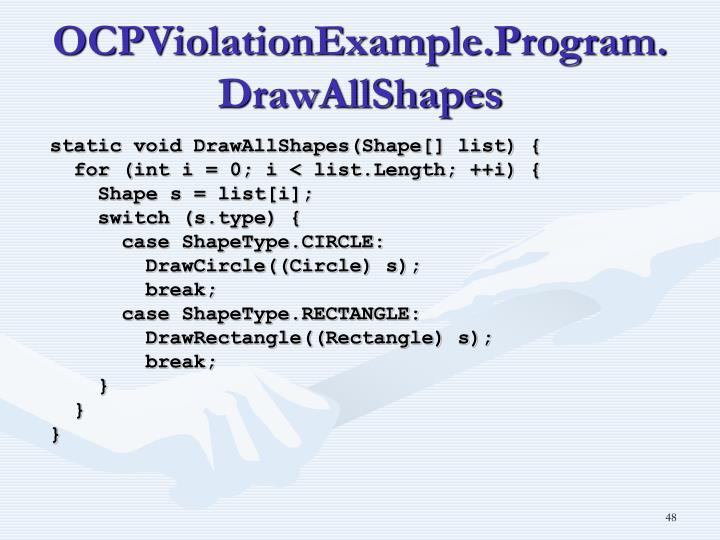 OCPViolationExample.Program.DrawAllShapes