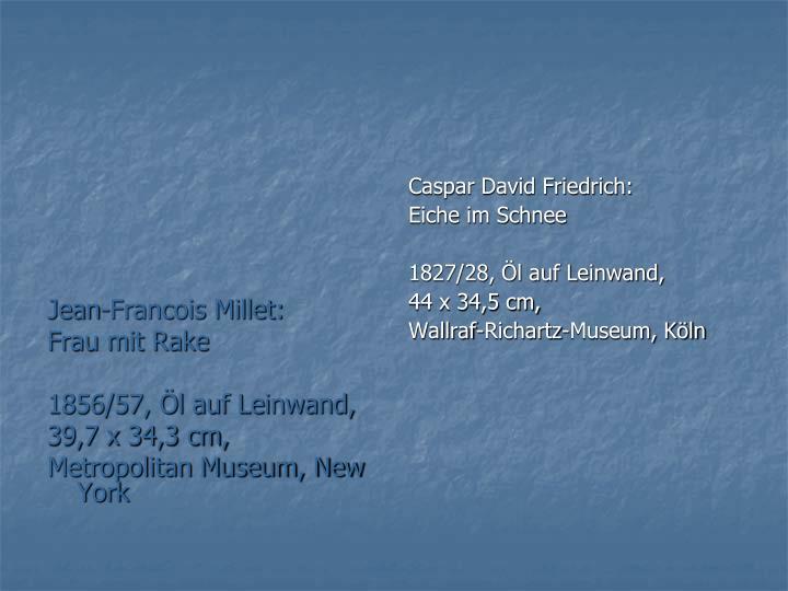 Jean-Francois Millet: