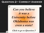 question 2 correct answer