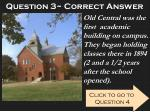 question 3 correct answer