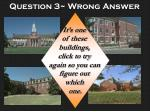 question 3 wrong answer