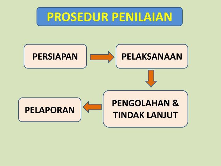 PROSEDUR PENILAIAN