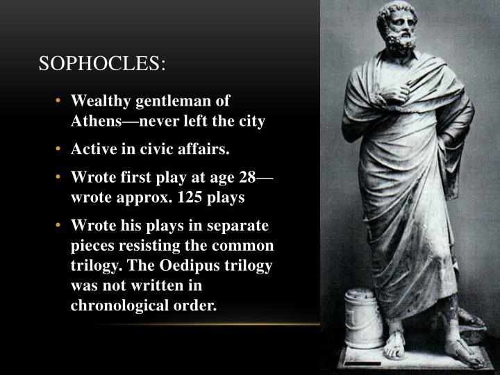 Sophocles: